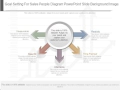 Goal Setting For Sales People Diagram Powerpoint Slide Background Image