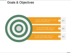 Goals And Objectives Ppt PowerPoint Presentation Infographic Template Example Topics
