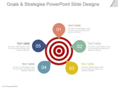 Goals And Strategies Ppt PowerPoint Presentation Slide