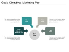 Goals Objectives Marketing Plan Ppt PowerPoint Presentation Show Microsoft Cpb