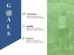 Goals Ppt PowerPoint Presentation Outline Visuals