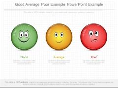 Good Average Poor Example Powerpoint Example
