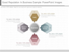 Good Reputation In Business Example Powerpoint Images