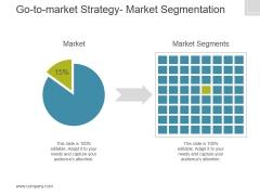 Gotomarket Strategy Market Segmentation Ppt PowerPoint Presentation Inspiration