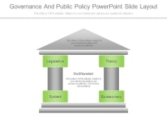 Governance And Public Policy Powerpoint Slide Layout