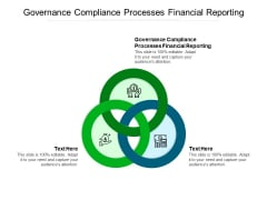 Governance Compliance Processes Financial Reporting Ppt PowerPoint Presentation Styles File Formats Cpb Pdf