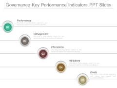 Governance Key Performance Indicators Ppt Slides
