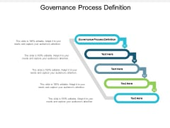 Governance Process Definition Ppt PowerPoint Presentation Pictures Professional Cpb