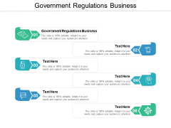 Government Regulations Business Ppt PowerPoint Presentation Summary Background Image Cpb