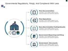 Governmental Regulations Filings And Compliance With Laws Ppt PowerPoint Presentation Slides Clipart Images