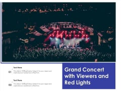 Grand Concert With Viewers And Red Lights Ppt PowerPoint Presentation File Example PDF