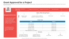 Grant Approval For A Project Diagrams PDF