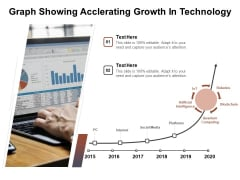 Graph Showing Acclerating Growth In Technology Ppt PowerPoint Presentation Summary Example Introduction PDF