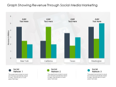 Graph Showing Revenue Through Social Media Marketing Ppt PowerPoint Presentation Gallery Professional PDF