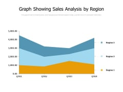 Graph Showing Sales Analysis By Region Ppt PowerPoint Presentation Inspiration Images