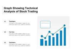 Graph Showing Technical Analysis Of Stock Trading Ppt PowerPoint Presentation Infographic Template Portrait PDF
