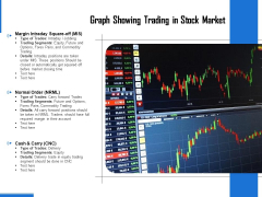 Graph Showing Trading In Stock Market Ppt PowerPoint Presentation Professional Backgrounds PDF