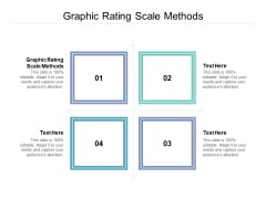 Graphic Rating Scale Methods Ppt PowerPoint Presentation Ideas Guide Cpb