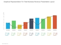Graphical Representation For Total Business Revenue Ppt PowerPoint Presentation Diagrams