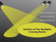 Graphics Of Two Spotlights Crossing Beams Ppt Powerpoint Presentation Pictures Slide Download