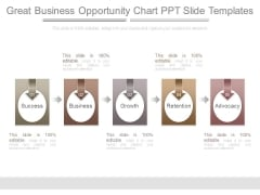 Great Business Opportunity Chart Ppt Slide Templates