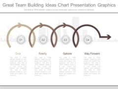 Great Team Building Ideas Chart Presentation Graphics