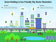 Green Building In Eco Friendly City Vector Illustration Ppt PowerPoint Presentation Ideas Graphics PDF