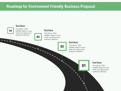 Green Business Roadmap For Environment Friendly Business Proposal Ppt Icon Summary PDF