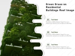 Green Grass On Residential Buildings Roof Image Ppt PowerPoint Presentation Icon Design Templates PDF