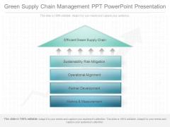Green Supply Chain Management Ppt Powerpoint Presentation