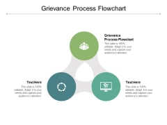 Grievance Process Flowchart Ppt PowerPoint Presentation Gallery Vector Cpb