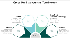 Gross Profit Accounting Terminology Ppt PowerPoint Presentation Professional Smartart Cpb