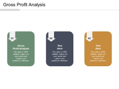 Gross Profit Analysis Ppt PowerPoint Presentation File Pictures Cpb