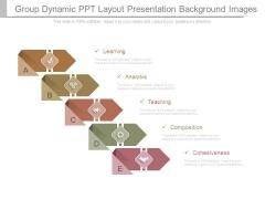 Group Dynamic Ppt Layout Presentation Background Images