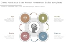 Group Facilitation Skills Format Powerpoint Slides Templates