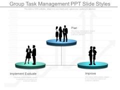 Group Task Management Ppt Slide Styles