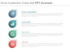 Grow Customers Cross Sell Ppt Example