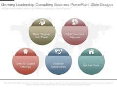 Growing Leadership Consulting Business Powerpoint Slide Designs