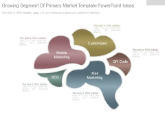 Growing Segment Of Primary Market Template Powerpoint Ideas