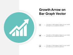 Growth Arrow On Bar Graph Vector Ppt Powerpoint Presentation Layouts Master Slide