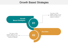 Growth Based Strategies Ppt PowerPoint Presentation Styles Ideas Cpb