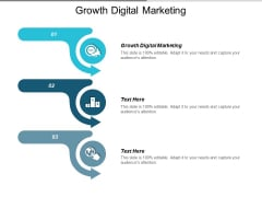 Growth Digital Marketing Ppt PowerPoint Presentation Infographic Template Templates Cpb