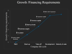 Growth Financing Requirements Ppt PowerPoint Presentation Infographic Template Design Inspiration
