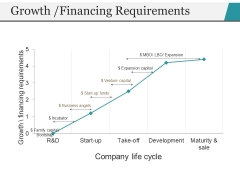 Growth Financing Requirements Ppt PowerPoint Presentation Professional Format Ideas