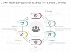 Growth Hacking Process For Business Ppt Sample Download