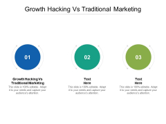 Growth Hacking Vs Traditional Marketing Ppt PowerPoint Presentation File Elements Cpb