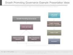 Growth Promoting Governance Example Presentation Ideas