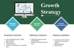 Growth Strategy Ppt PowerPoint Presentation Icon Format