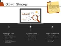 Growth Strategy Ppt PowerPoint Presentation Icon Introduction