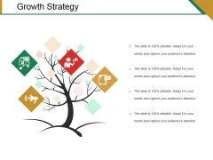 Growth Strategy Template 1 Ppt PowerPoint Presentation Icon Designs